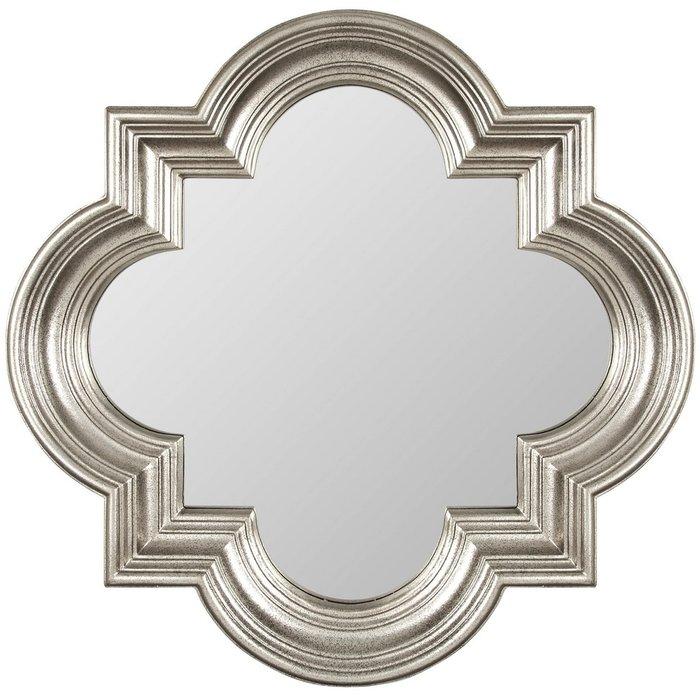 Настенное Зеркало в раме Morocco Silver