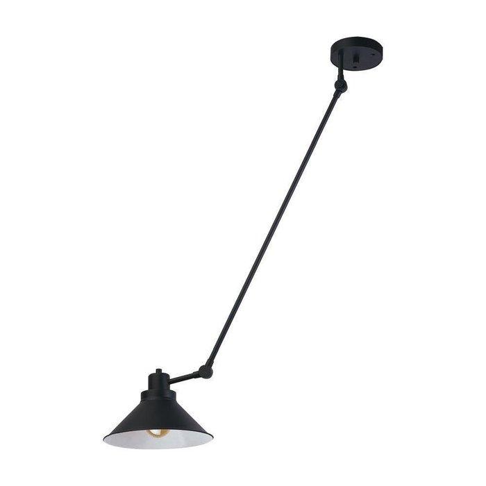 Подвесной светильник  Techno черного цвета
