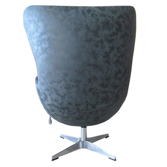 Кресло Egg Chair черно цвета
