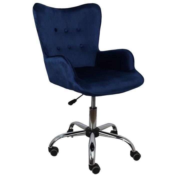 Компьютерное кресло Bella темно-синего цвета