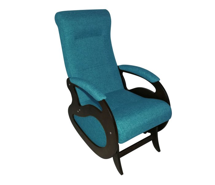 Кресло-качалка Маятник светло-синего цвета