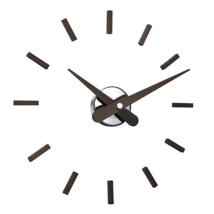 Настенные часы Sunset с деревянными стрелками