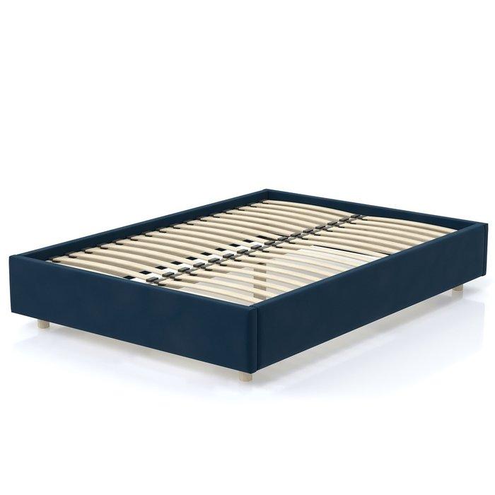 Кровать SleepBox 90x200 синего цвета