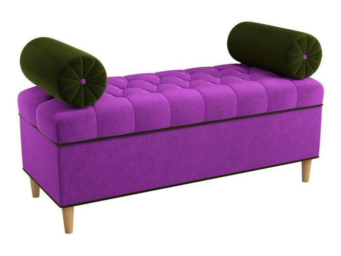 Банкетка Глория фиолетового цвета