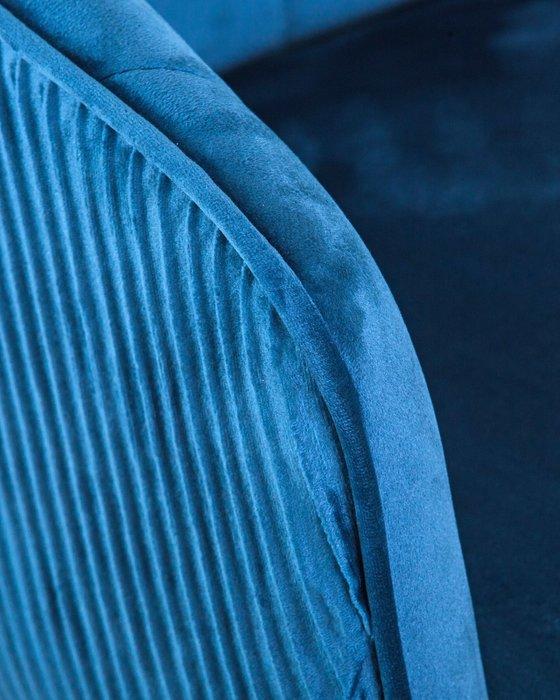 Стул барный Darcy синего цвета