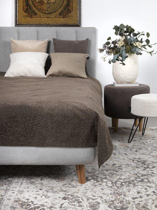 Покрывало Uno Senora Desert 140x210 коричневого цвета