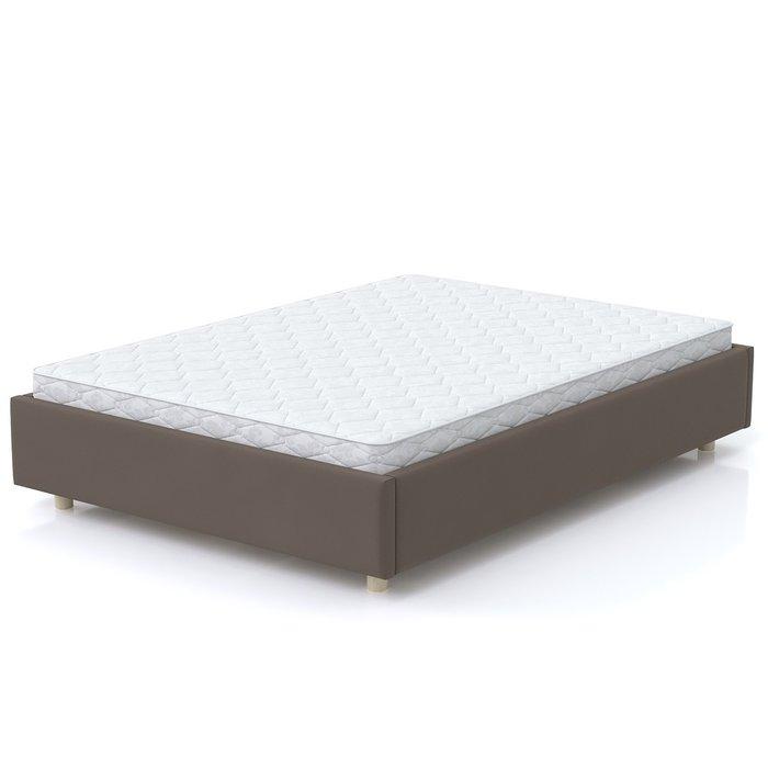 Кровать SleepBox 120x200 коричневого цвета