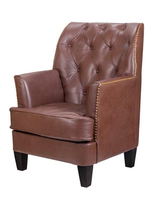 Дизайнерское  кресло Noff leather из натуральной кожи