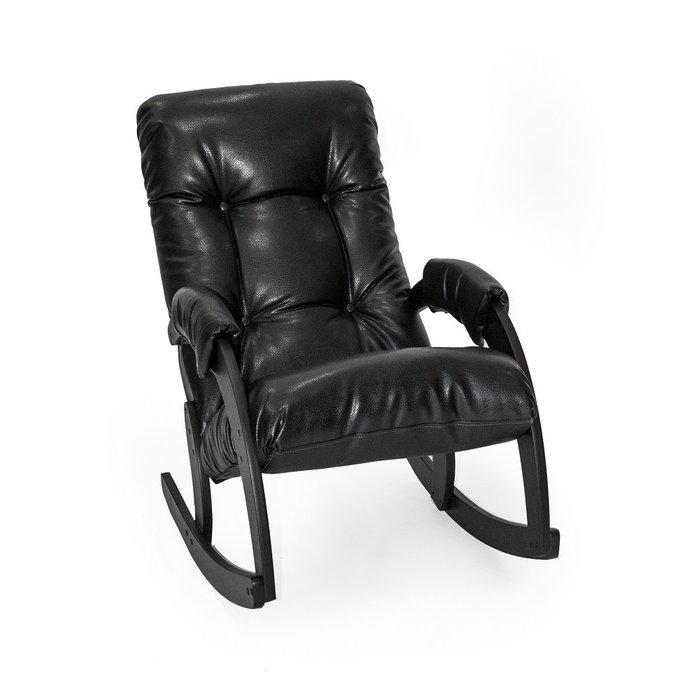 Кресло-качалка Модель 67 венге/ Vegas Lite Black