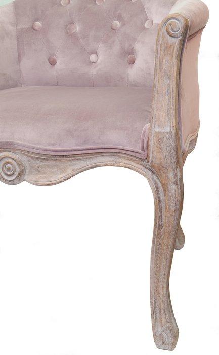 Кресло Kandy pink velvet
