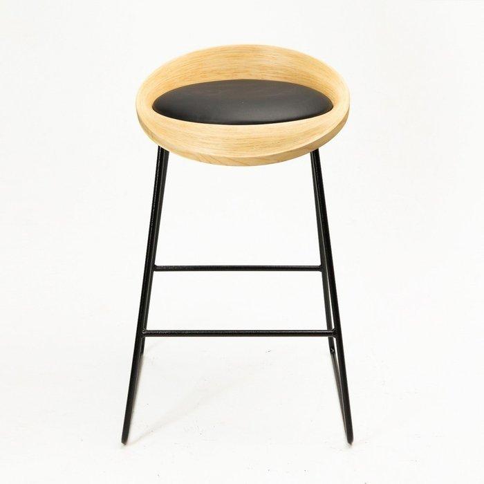 Барный стул Roe ясень black