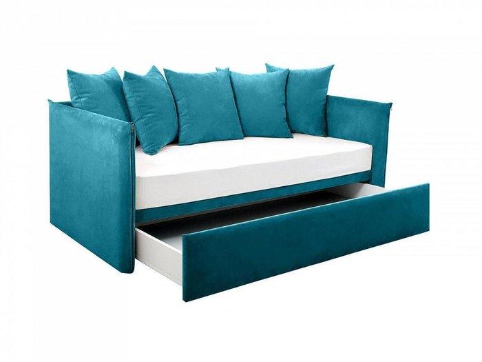 Диван-кровать Milano темно-синего цвета