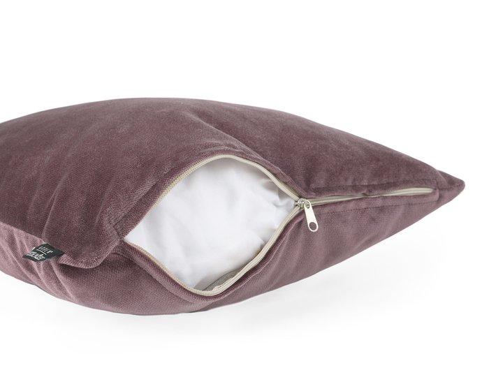 Декоративная подушка Lecco java фиолетового цвета