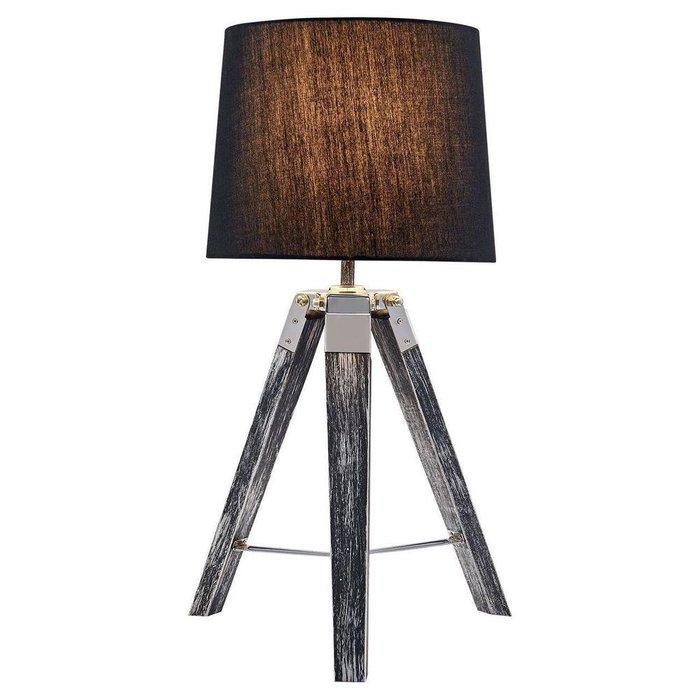 Настольная лампа Amistad с черным абажуром