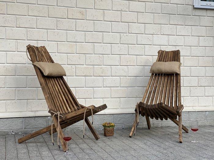 Складной деревянный стул Амстердам цвета венге