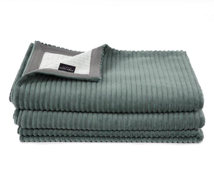Покрывало Duo Cilium Forest 230x240 серо-зеленого цвета