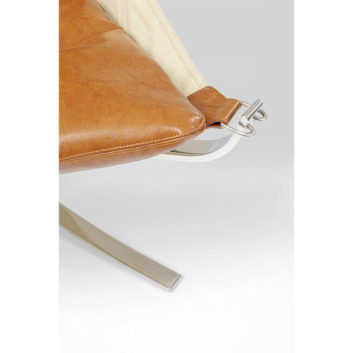 Кресло + пуф Washington из воловьей кожи