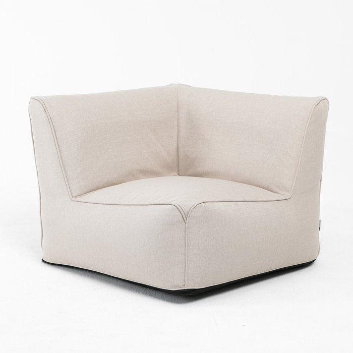 Модульное угловое кресло Lite бежевого цвета