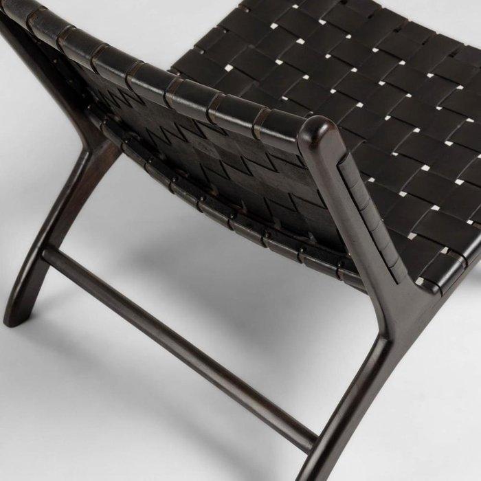 Кресло Black Calixta черного цвета