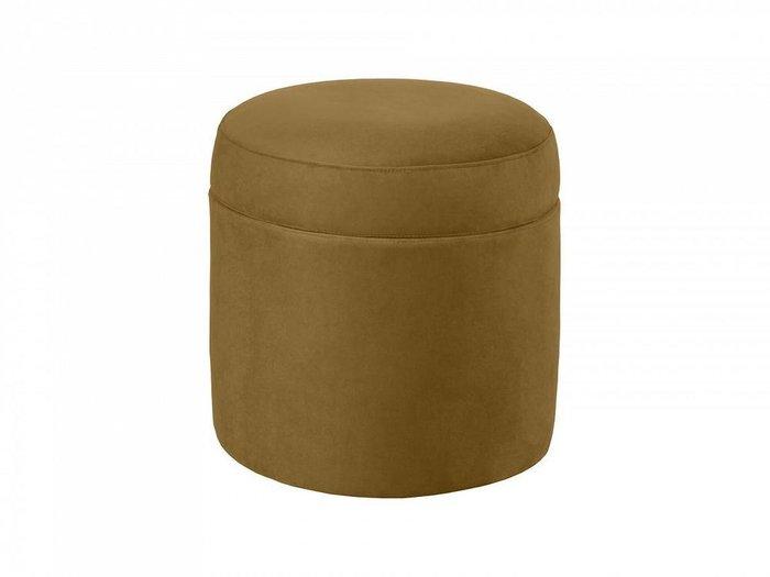 Пуф Barrel оливкового цвета