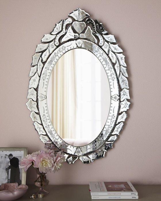 Венецианское настенное зеркало Laura