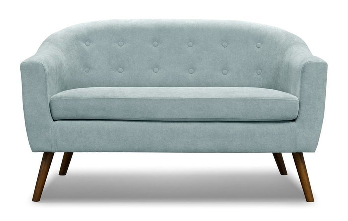 Прямой диван Florence M бирюзового цвета