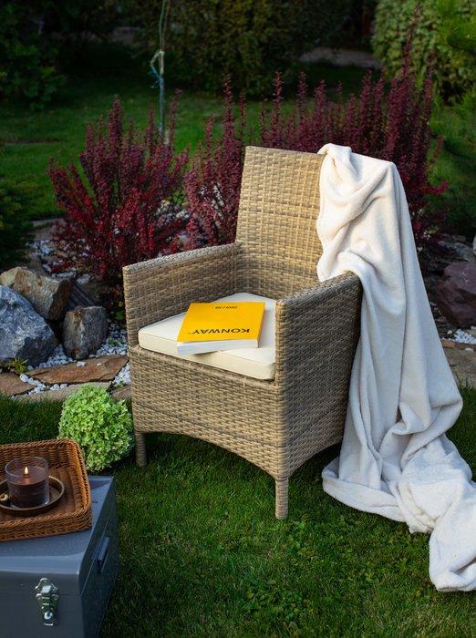 Кресло садовое Garda цвета под кожу