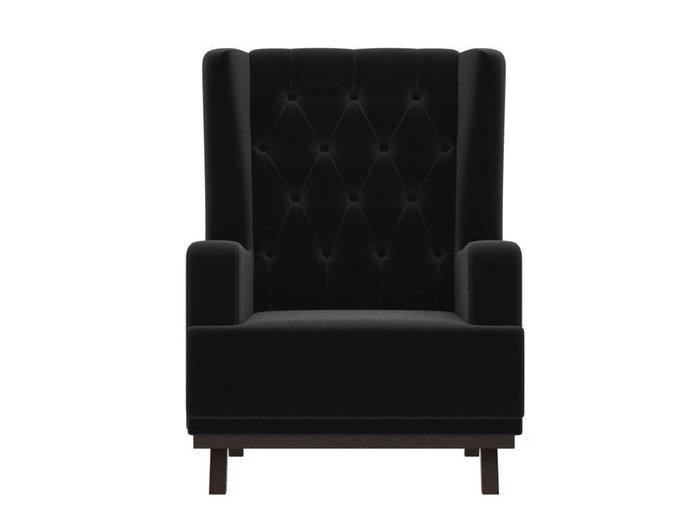 Кресло Джон Люкс черного цвета
