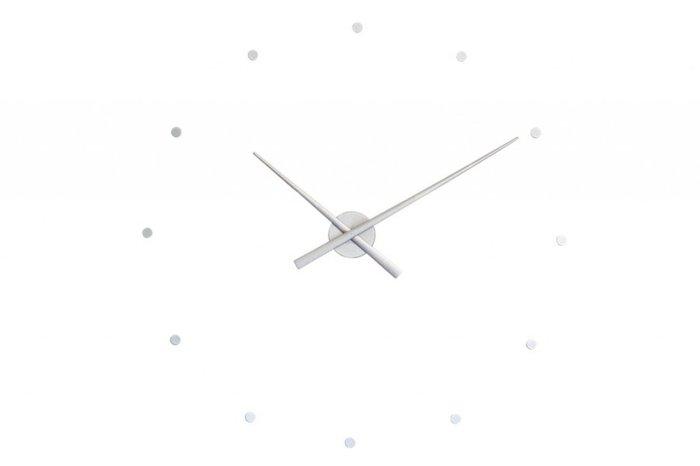 Настенные часы OJ Silver серебристого цвета
