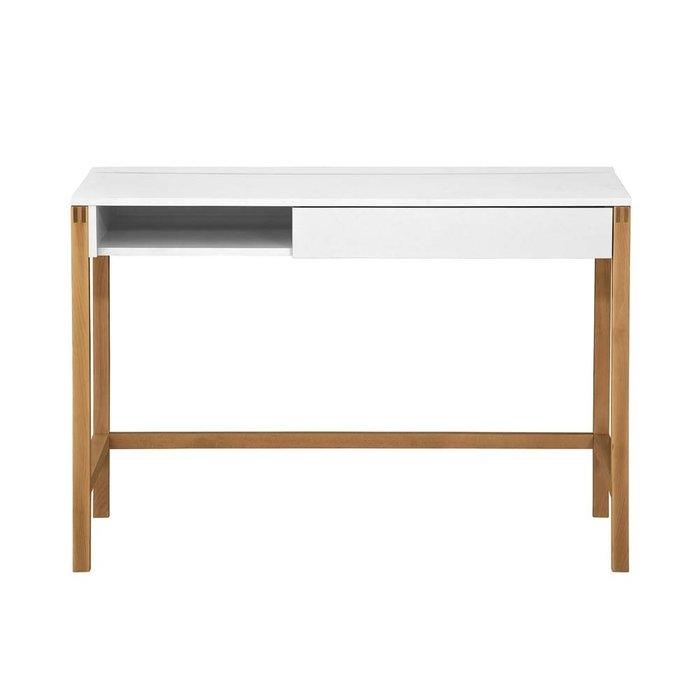 Стол письменный Northgate Desk Mel White белого цвета