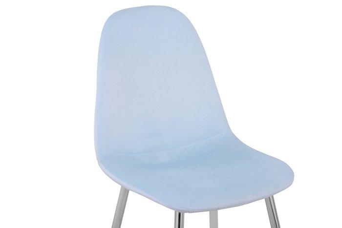 Стул Валенсия пыльно-голубого цвета