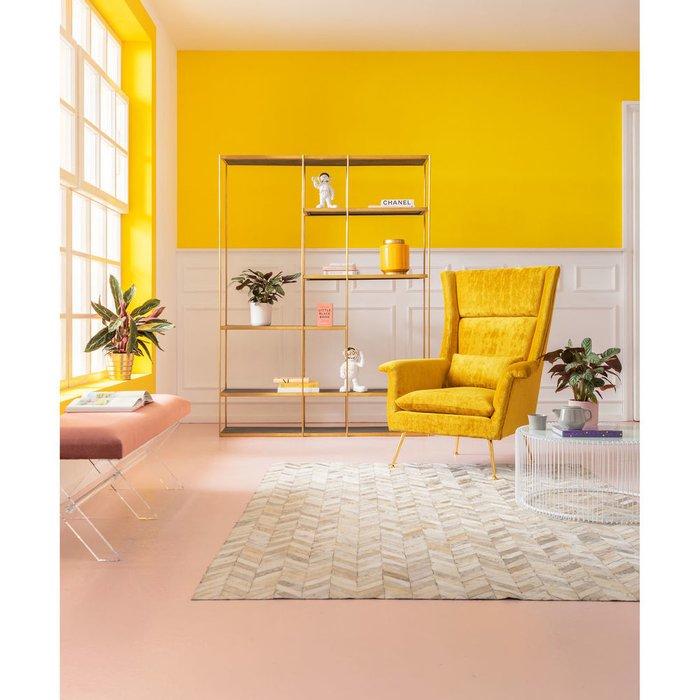 Кресло Vegas желтого цвета