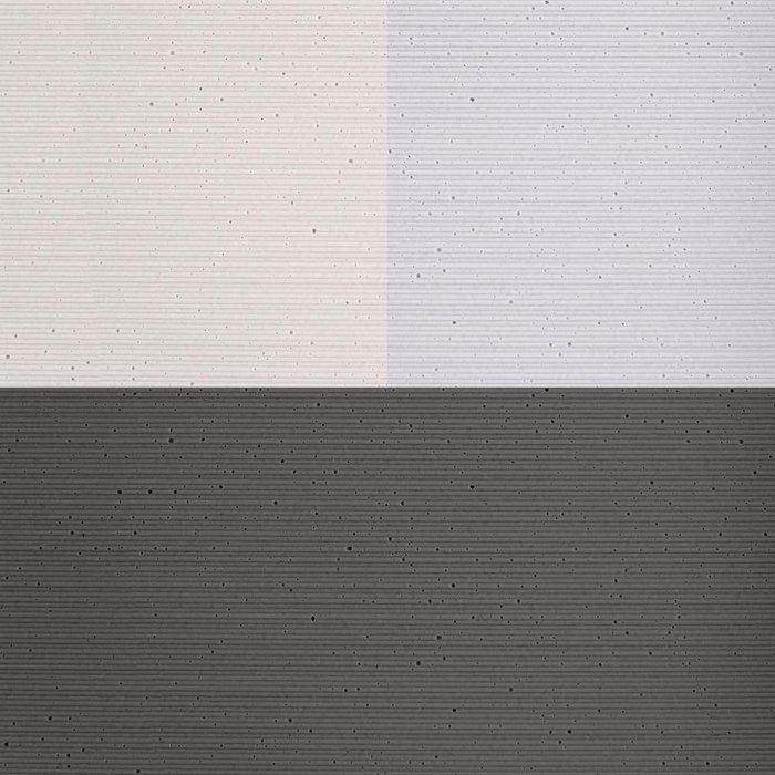 Кашпо Хавало с системой полива светло-серого цвета