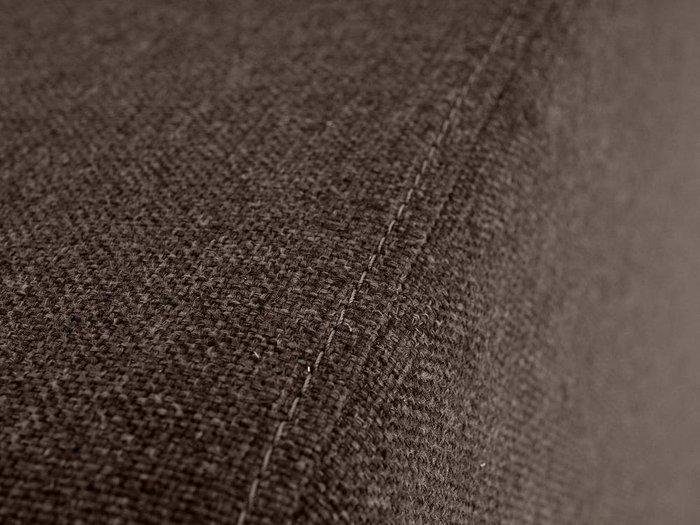 Пуф Kansas темно-коричневого цвета