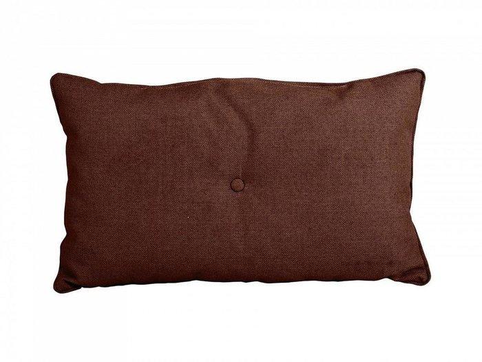 Декоративная подушка Pretty темно-коричневого цвета