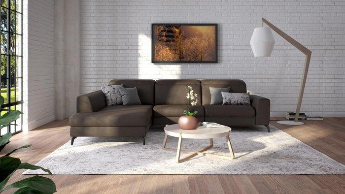 Угловой диван Donato серого цвета