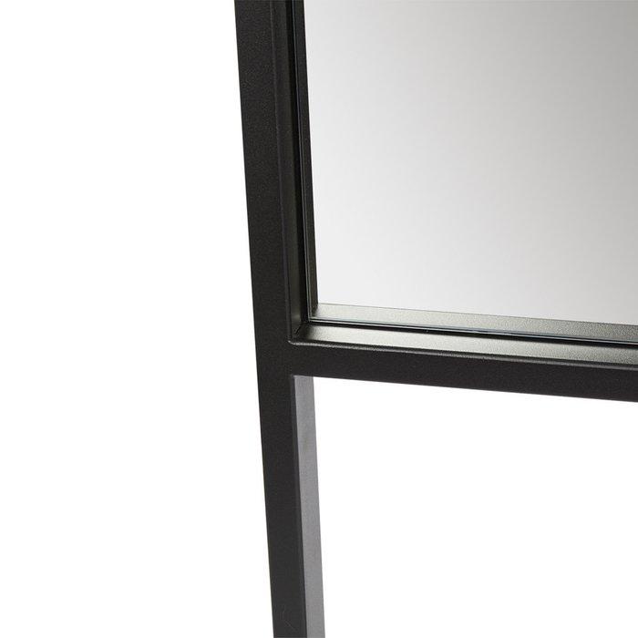 Зеркало настенное Абрис в черной раме