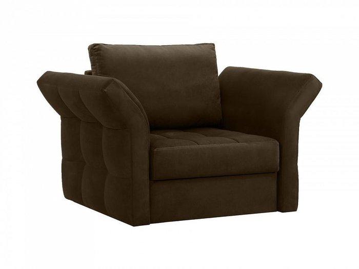 Кресло Wing темно-коричневого цвета