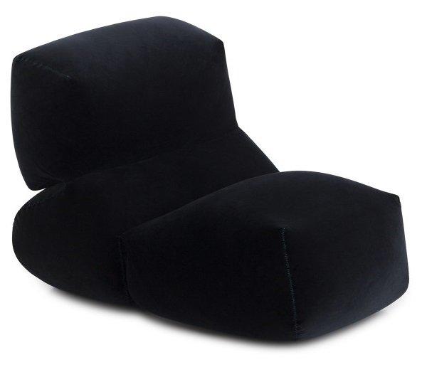 Пуф Grapy черного цвета