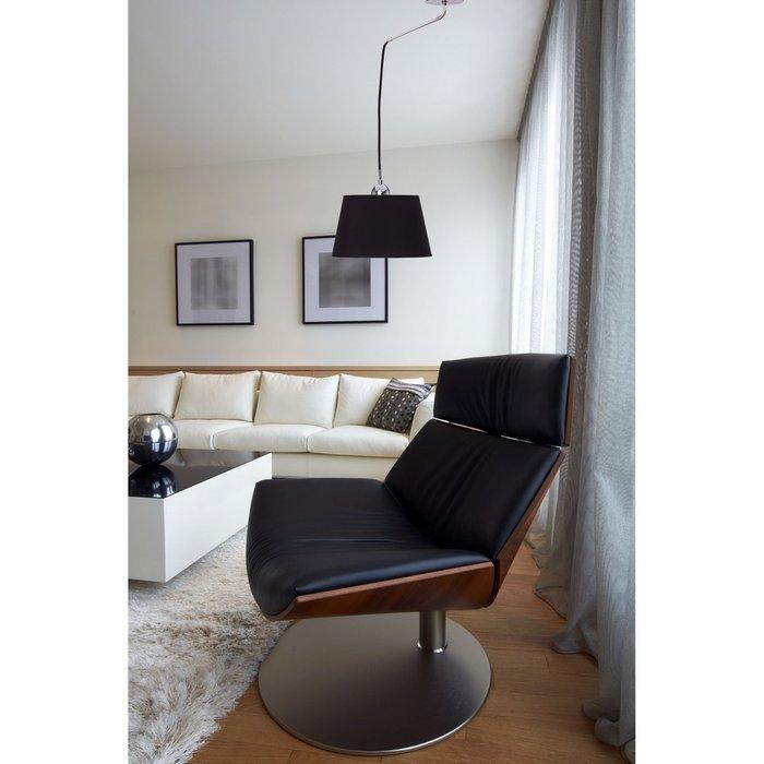 Подвесной светильник Лацио черного цвета