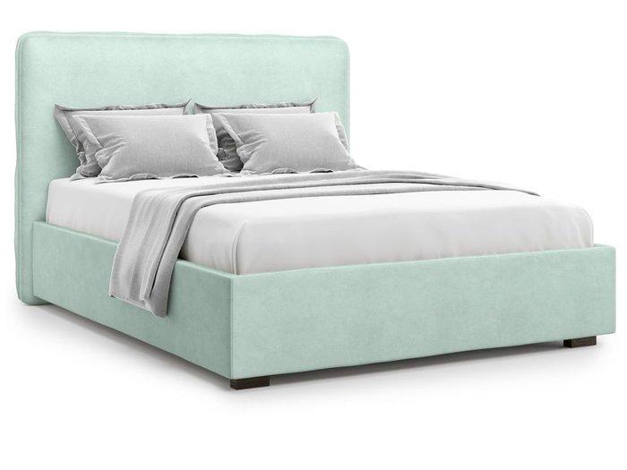 Кровать Brachano 180х200 мятного цвета