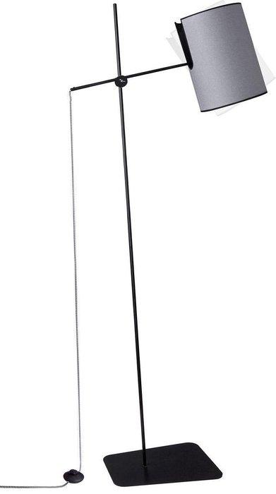 Торшер Zelda с серым плафоном