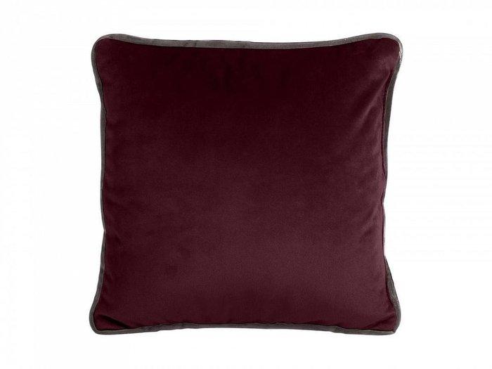 Подушка декоративная Boxy фиолетового цвета
