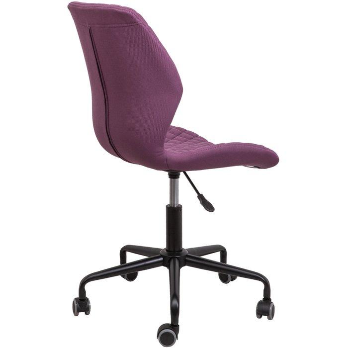 Кресло поворотное Delfin бордового цвета