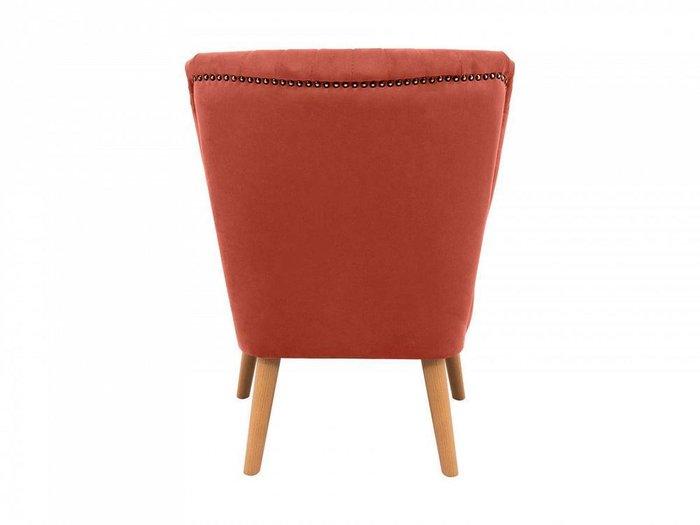 Кресло Barbara кораллового цвета