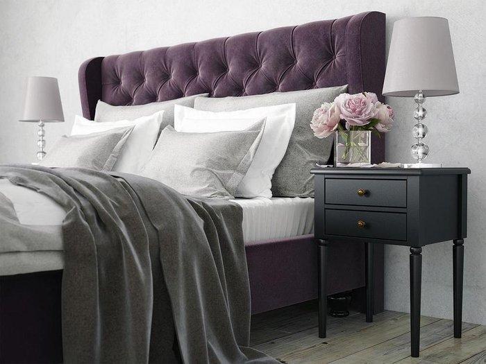 """Кровать """"Jazz"""" с высокой спинкой и декоративными  пуговицами 180х200"""