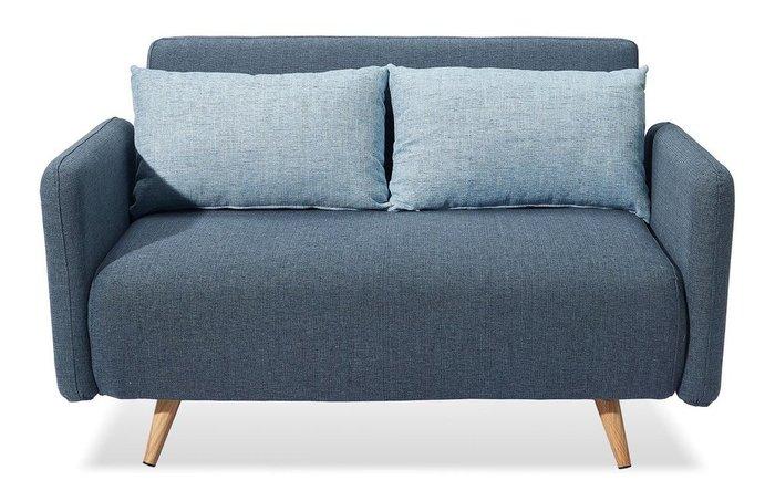 Диван-кровать Cardiff синего цвета