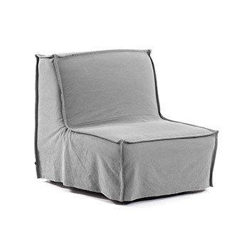 Кресло-кровать Lyanna серого цвета