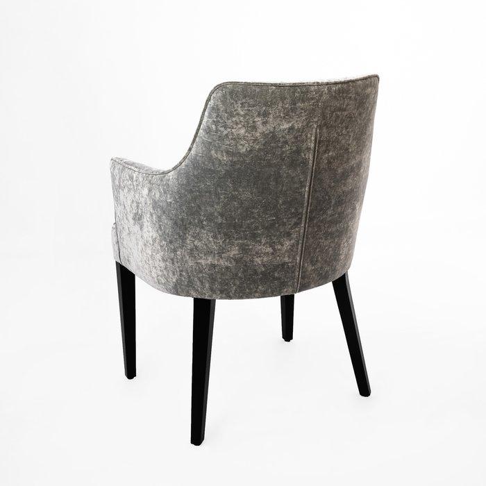 Кресло Annika серебристого цвета