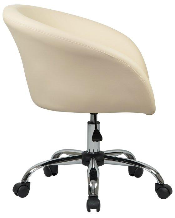 Офисное кресло для персонала Bobby светло-бежевого цвета